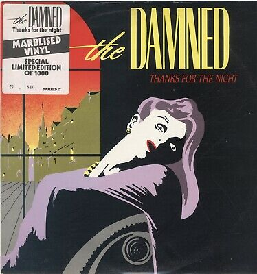 £39.99 • Buy Damned – Thanks For The Night RARE MARBLED VINYL 12  #92 / 1000 PUNK NEAR MINT