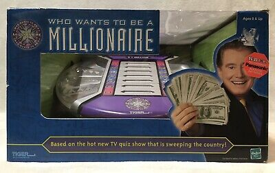 £31.94 • Buy 2001 Tiger Electronics  Who Wants To Be A Millionaire  Electronic Game
