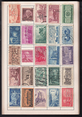AU299 • Buy USA, Huge Collection Of 2000 Different Stamps, Used