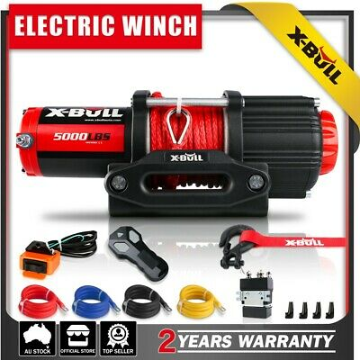 AU204 • Buy X-BULL 5000LBS Electric Winch 12V Synthetic Rope Wireless Roof Rack UTV 4WD 4X4
