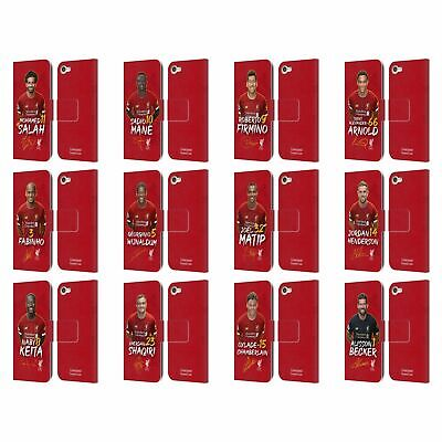 £16.81 • Buy LIVERPOOL FC LFC 2019/20 FIRST TEAM GROUP 1 PU LEATHER BOOK CASE FOR IPOD TOUCH