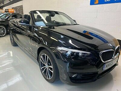 2019 BMW 218d Sport Convertible Low Mileage Px Welcome • 15,995£