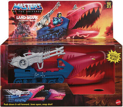 $52.29 • Buy Mattel Collectible - Masters Of The Universe Origins 5.5  Land Shark Vehicle (He