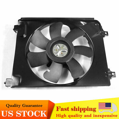 $40.79 • Buy For Honda Civic 2006-2011 RH AC A/C Condenser Cooling Fan Assembly 38615RNAA01