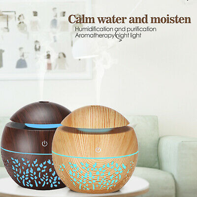 AU18.98 • Buy Ultrasonic LED Aromatherapy Diffuser Aroma Essential Oil Air Humidifier Purifier