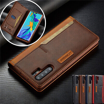 £1.99 • Buy For Huawei P30 Lite P20 Pro P30 Magnetic Luxury Leather Wallet Case Phone Cover