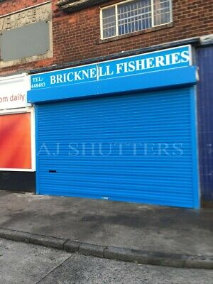 £690 • Buy Shopfront Roller Shutter Door - Sizes Available Up To 4mtr