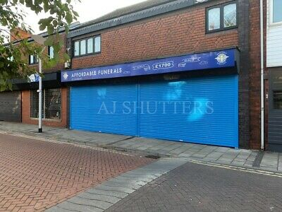 £625 • Buy Commercial Shopfront Roller Shutter Door - Sizes Available Up To 4mtr