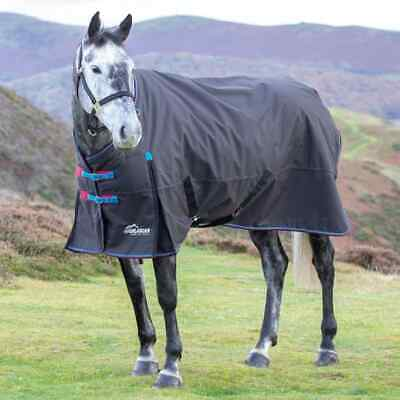 £70 • Buy Shires Highlander Turnout 200g With Detachable Neck Cover 7ft