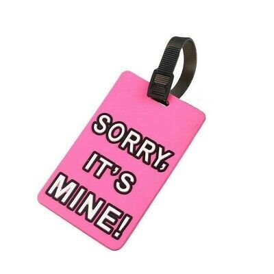 £1.39 • Buy Silicone Luggage Baggage Tags Labels Name Address ID Suitcase Travel