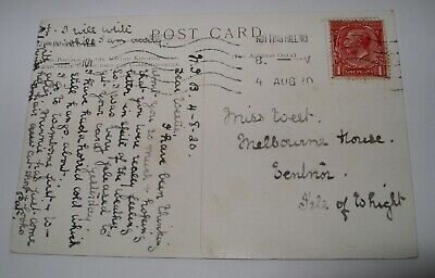 £2.99 • Buy 1920 VENTNOR Isle Of Wight FAMILY HISTORY POSTCARD Geneology
