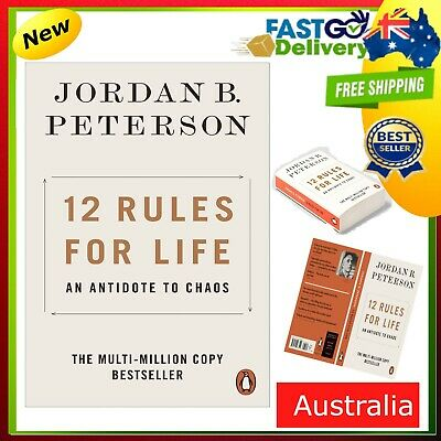 AU14.99 • Buy NEW 12 Rules For Life 2019 By Jordan B. Peterson Paperback Book FREE SHIPPING