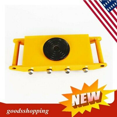 $94 • Buy 12T 360° Industrial Heavy Duty Machine Dolly Skate Roller Machinery Move Device