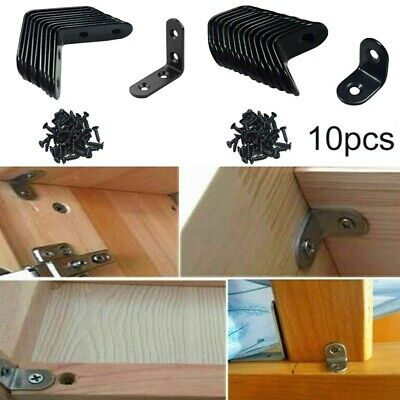 AU17.20 • Buy Right Angle Bracket Support L-Shaped Furniture Cabinet Joint Home Practical Sale