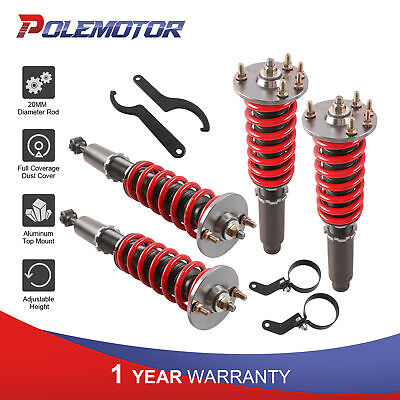 $243.81 • Buy Front+Rear Coilovers For 2003-2007 Accord EX LX SE 2004-2008 Acura TSX 2.4L 3.0L