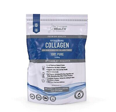 £19.97 • Buy Hydrolysed Collagen Powder Bovine 1kg For Skin, Joints Digestion & Gut Health