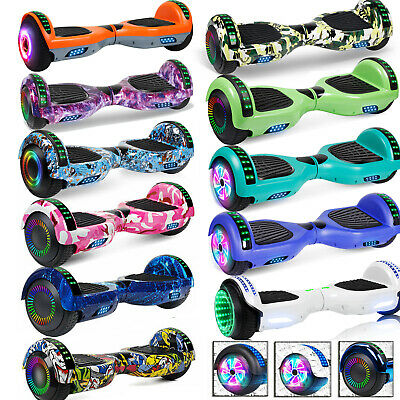 AU259.99 • Buy 6.5  Bluetooth Hoverboard Skateboard Electric Self Balancing Scooter Hover Board