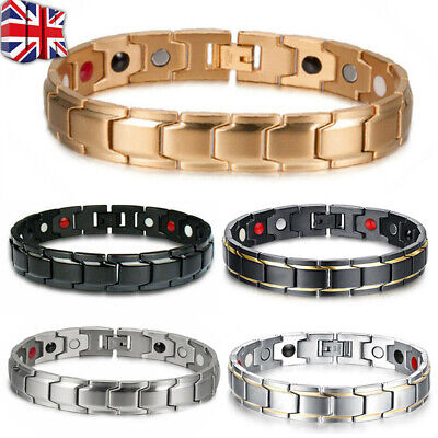 £3.79 • Buy Health Care Weight Loss Magnetic Therapy Elemental Bracelet Arthritis Pain Relie