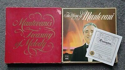 £13 • Buy Mantovani's Treasury Of Melody & The Magic Of - Readers Digest LP X 14 Records