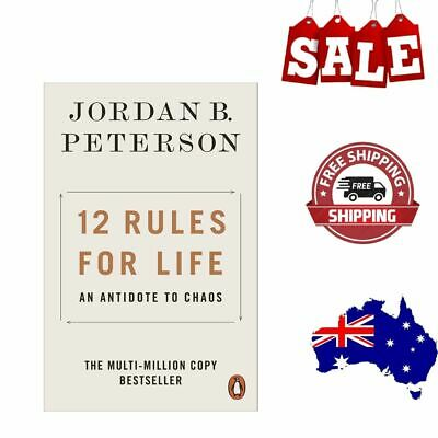 AU14.58 • Buy NEW 12 Rules For Life 2019 By Jordan B. Peterson Paperback Book | FREE SHIPPING