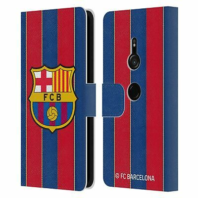 AU30.95 • Buy Official Fc Barcelona 2020/21 Crest Kit Leather Book Case For Sony Phones 1
