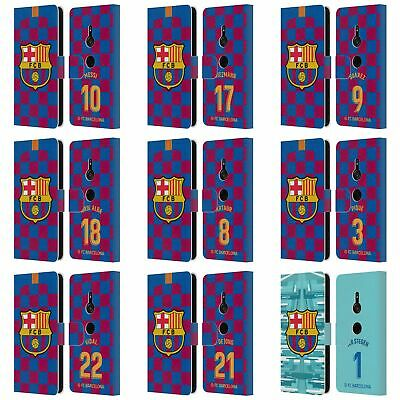 AU30.95 • Buy Fc Barcelona 2019/20 Players Home Kit Group 1 Leather Book Case For Sony Phone 1