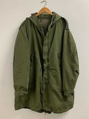 $850 • Buy M-51 Fishtail Parka Shell Attached With A M-51 Liner Size Large US ARMY Q-20