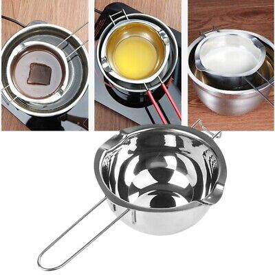 £7.25 • Buy Stainless Steel Wax Melting Pot Double Boiler For DIY Wedding Scented Candle