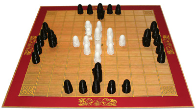 AU44.64 • Buy Viking Game Hnefatafl, 42 Detailed Playing Pieces, 2 In 1 Games, Handmade - New