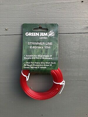 £2.95 • Buy Replacement Strimmer Line - Heavy Duty - Grass Trimming - Weed Cutting