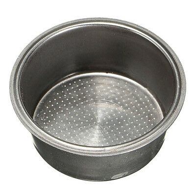 £4.88 • Buy Stainless Steel Coffee Filter Basket 2 Cup 51mm Non Pressurized Coffee Tea Cup