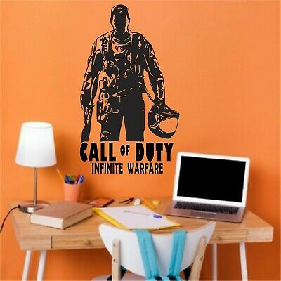 £13.99 • Buy Personalised Name Vinyl Wall Art Stickers Boys.Call Of Duty Any  Color