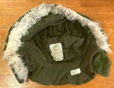 $19.99 • Buy Vintage US MILITARY EXTREME COLD~WEATHER HOOD W/SYNTHETIC FUR RUFF For M-65 COAT