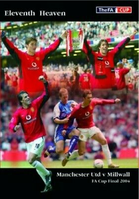 £3.97 • Buy 2004 FA Cup Final Manchester United V Millwall [DVD] - DVD  84VG The Cheap Fast