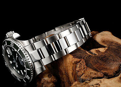$ CDN48.37 • Buy Oyster Watch Band Bracelet For Rolex Yachtmaster Flip Lock Stainless Steel