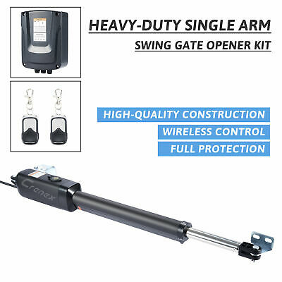 £190.99 • Buy Swing Gate Opener With Remote Control Complete Kit Single Arm Opener  Electric