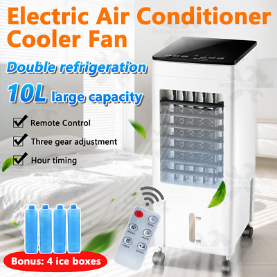AU89 • Buy Portable 10L Air Cooler Fan Air Conditioner Cooling Fan Humidifier AC Anion OZ