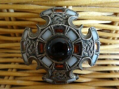 Vintage Costume Jewellery Brooch Pin Signed Miricle • 9.99£