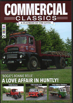 £8.75 • Buy Truck Lorry Book Commercial Classics Issue 4  FLATBEDS ON THE LEVEL