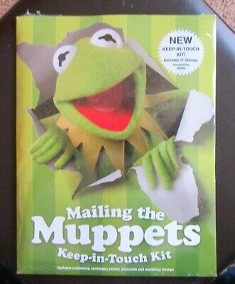 $12.99 • Buy USPS Mailing The Muppets Keep-in-Touch Kit 11 Stamps & Much More NEW & SEALED
