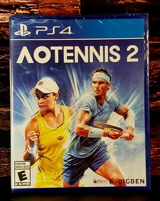AU44.56 • Buy AO Tennis 2 - PS4 - Sony PlayStation 4 - Brand NEW - Sealed