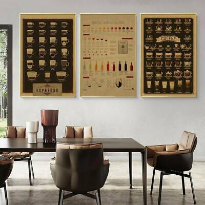 £7.99 • Buy Coffee Beer Wine Collection Wall Art Canvas Painting Cafe Bar Decorative Picture