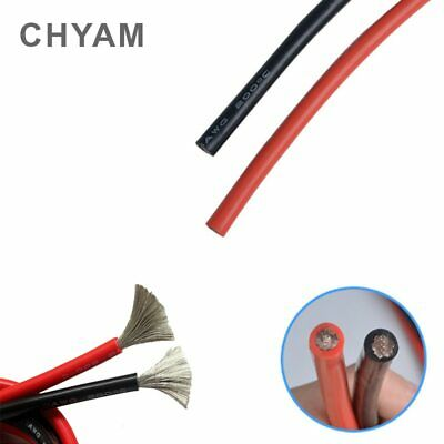 AU25.50 • Buy Wire Cable Soft Silicone Wire 11AWG 10AWG 9AWG 8AWG 7AWG 6AWG 4AWG 35 / 50 / 70m