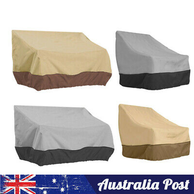 AU31.99 • Buy Patio Chair Cover Lounge Deep Seat Cover Waterproof Outdoor Furniture Cover