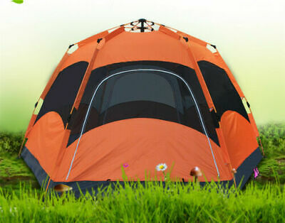 AU199.99 • Buy Family 6 8 Person Outdoor Double Layer Waterproof Large Family Camping Automatic