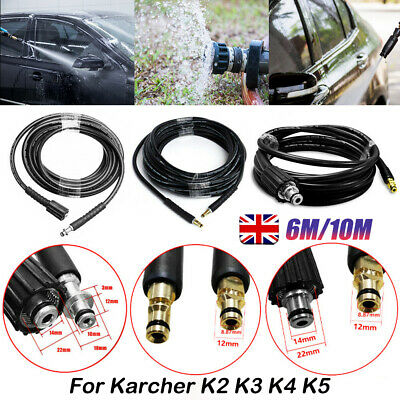 £13.99 • Buy High Pressure Replacement Pipe Hose 6/10M 2300PSI 160BAR For Karcher K2 Cleaner