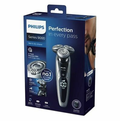 AU369 • Buy Philips S9211/12 Wet & Dry Series 9000 Electric Shaver V-Track Precision Pro