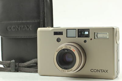 $ CDN2424.60 • Buy [MINT In CASE] Contax T3 D T3D Silver Double Teeth Point & Shoot From JAPAN