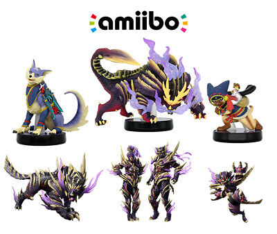 AU6 • Buy *Homemade* Monster Hunter Rise Amiibo Cards NTG215 - Pick Any One You Want