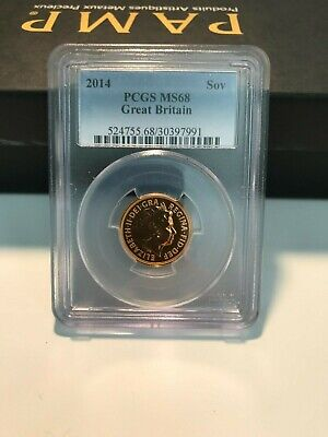 £475 • Buy PCGS-Graded S-SC7 St. George 2014 £1 Coin - MS68, Soverign, Mint Condition